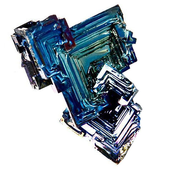 Bismuto mineral en bruto
